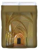 Passageway In A Monastery  Duvet Cover