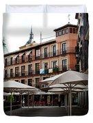Passing By Zocodover Square Duvet Cover