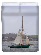 Passing St Mawes Duvet Cover
