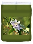 Passion Flower - May Pop Bloom Duvet Cover