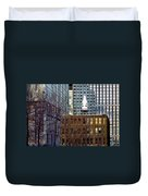 Past And Present 3 Duvet Cover