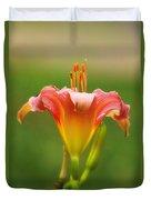 Pastel Lilyform Duvet Cover