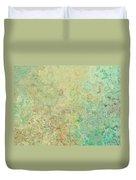 Pastle Green Stone Duvet Cover