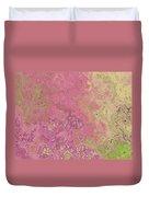 Pastle Pink Stone Duvet Cover