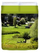 Pastoral Ease Duvet Cover