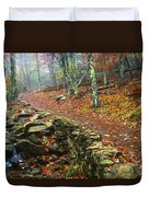 Path Through Forest, Shenandoah Duvet Cover
