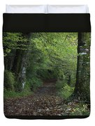 Path Through The Woods Inistioge Duvet Cover