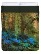 Path To Heaven Duvet Cover