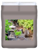 Path To The Waterfall Duvet Cover