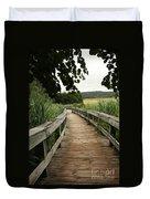 Paths Duvet Cover