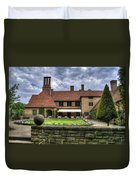 Patio Restaurant At Cecilienhof Palace Duvet Cover