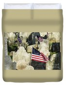 Patriot Cemetery Duvet Cover
