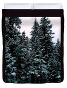 Pat's Winter Trees 1d Duvet Cover