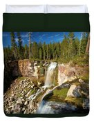 Pauina Falls Overlook Duvet Cover