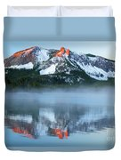 Paulina Lake Reflections Duvet Cover