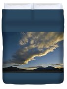 Payachatas Mountains. Republic Of Bolivia.  Duvet Cover