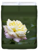 Peace Rose Duvet Cover