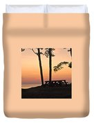 Peaceful Evening Picnic 7109 Duvet Cover