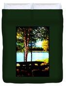 Peaceful Picnic Duvet Cover