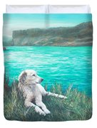 Peaceful Place At The Cove Palisades Duvet Cover