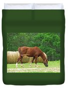 Peacefully Grazing Duvet Cover
