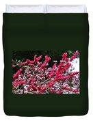 Peach Blossom Duvet Cover