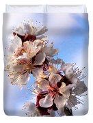 Peach Blossoms Duvet Cover