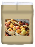Peaches Duvet Cover