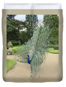 Peacock Glory Duvet Cover
