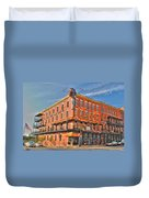Pearl Street Brewery Duvet Cover
