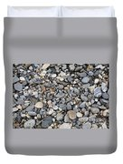Pebble Beach Rocks, Maine Duvet Cover