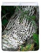 Pecked Birch Duvet Cover