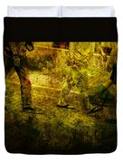 Pedestrians On The Move No. Ol5 Duvet Cover