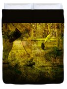 Pedestrians On The Move No. Ol7 Duvet Cover