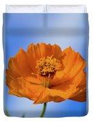 Pefect In Orange Duvet Cover