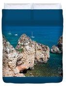 Peidades Coast Portugal Duvet Cover