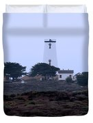 Peidras Blancas Lighthouse Duvet Cover