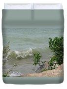 Pelee Shore Duvet Cover