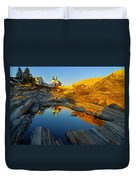 Pemaquid Point Reflection 2 Duvet Cover
