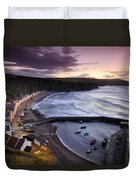 Pennans Cottages And Duvet Cover