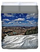 Pennsylvania Bumps Duvet Cover