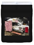 Penthouse Campers Club-chrysler Duvet Cover