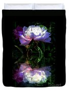 Peony Reflected Duvet Cover