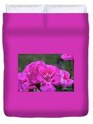 Pepto Pink Duvet Cover