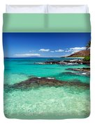 Perfect Day At Makena Duvet Cover