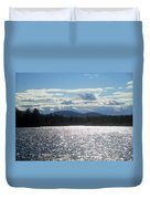 Perfect Day On The Lake Duvet Cover