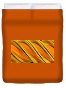 Peripheral Streak Image Of Squash Duvet Cover