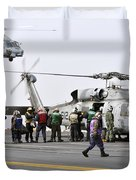Personnel Load Humanitarian Supplies Duvet Cover