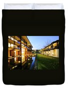 Perspective Of Contemporary Architecture Duvet Cover