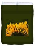 Petales De Soleil - A41b Duvet Cover by Variance Collections